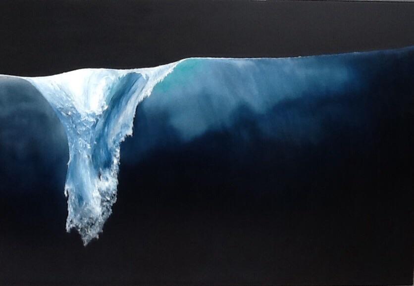 Broken Wave 57x 84
